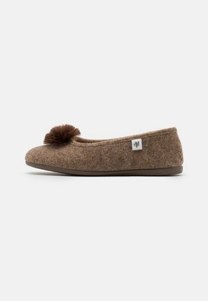 HEIDI 3D - Slippers - taupe
