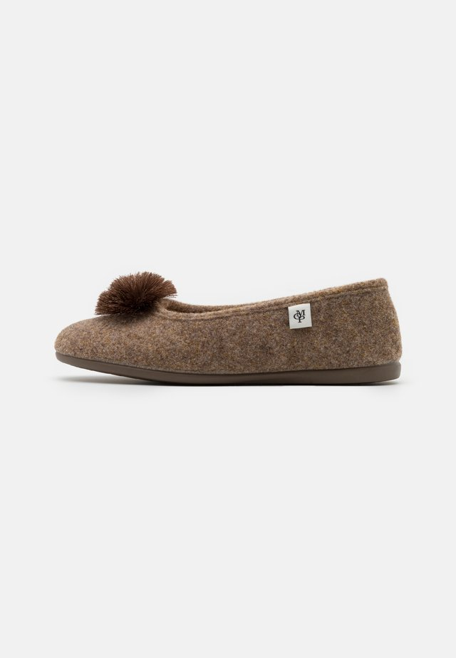 HEIDI 3D - Chaussons - taupe