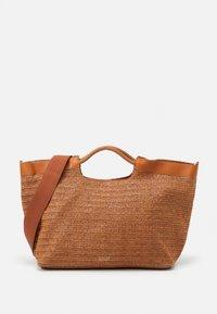 ELLE BEACH SHOPPER - Tote bag - cognac