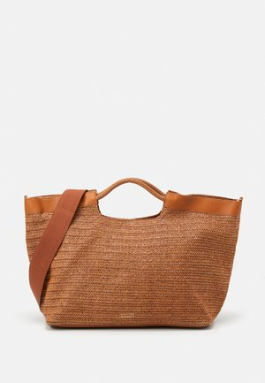 ELLE BEACH SHOPPER - Tote bag - cognac