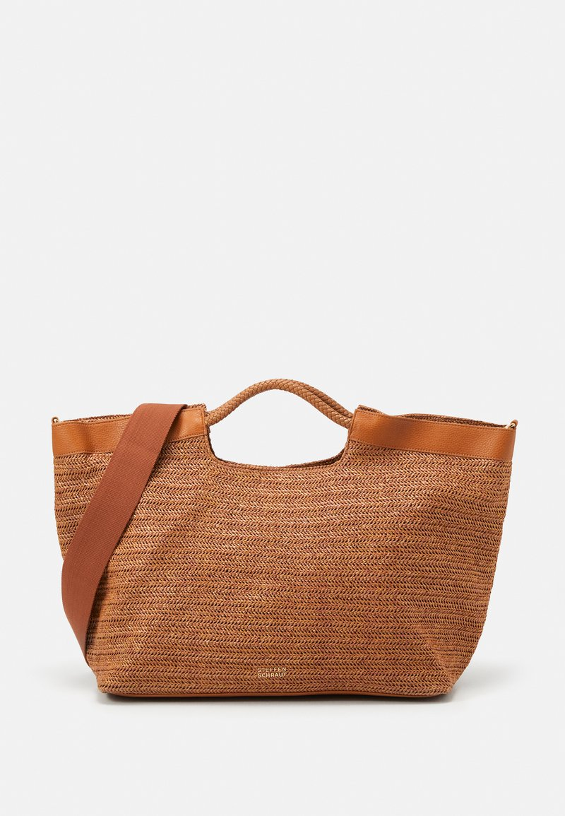 Steffen Schraut - ELLE BEACH SHOPPER - Tote bag - cognac