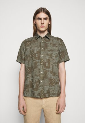SHORT SLEEVE REGULAR FIT - Košile - khaki