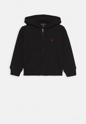 HOOD - veste en sweat zippée - black