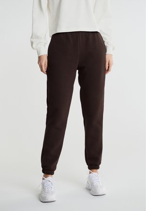 Tracksuit bottoms - black coffee