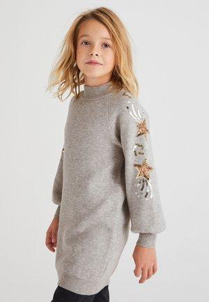 SEQUIN  - Jumper dress - grey