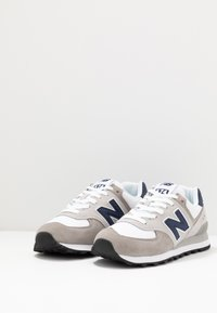 New Balance - 574 - Baskets basses - grey/white - 2