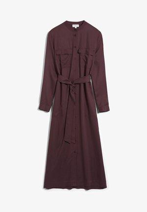 BEANTAA - Shirt dress - aubergine