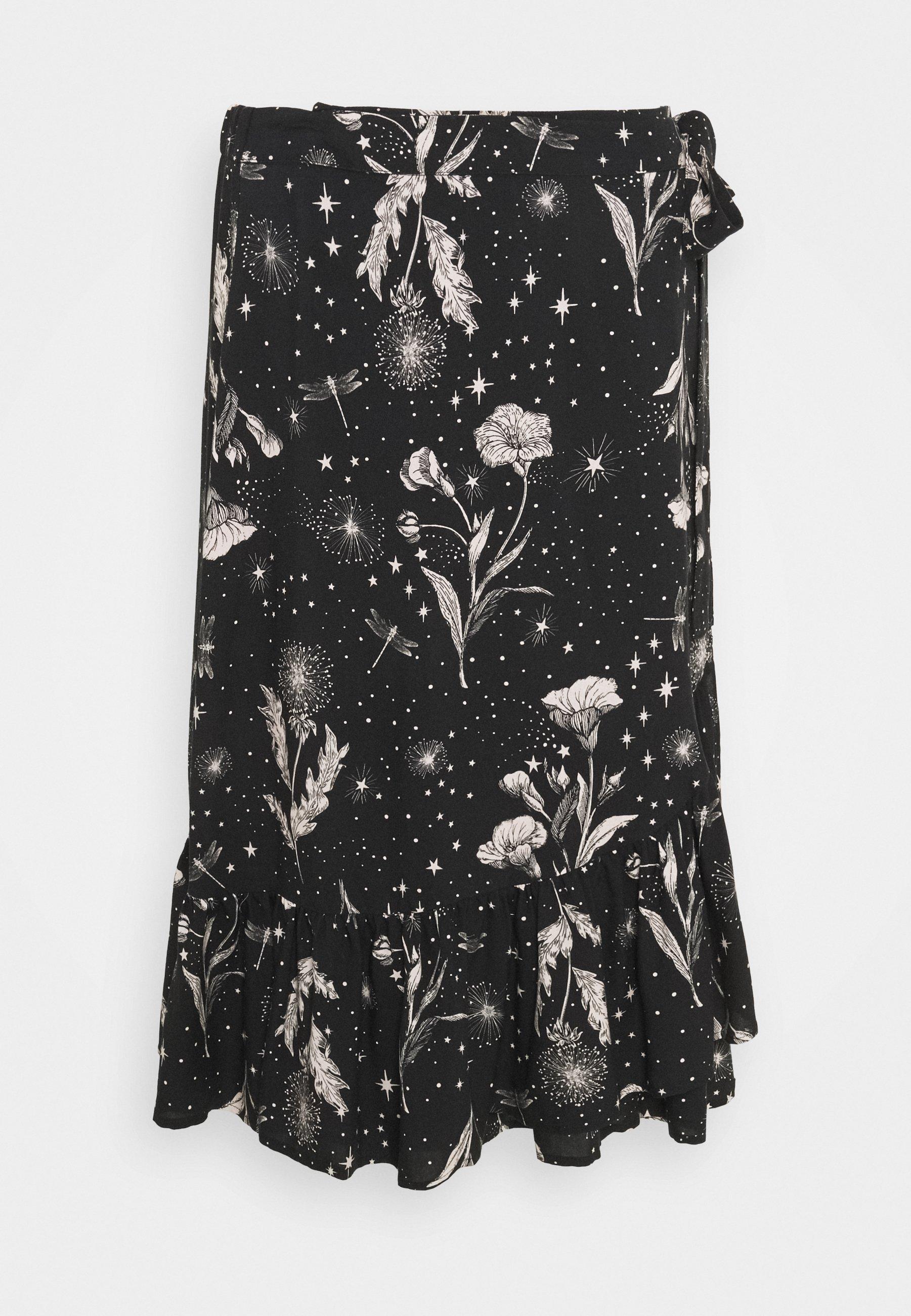 Mujer SKIRT - Minifalda - black