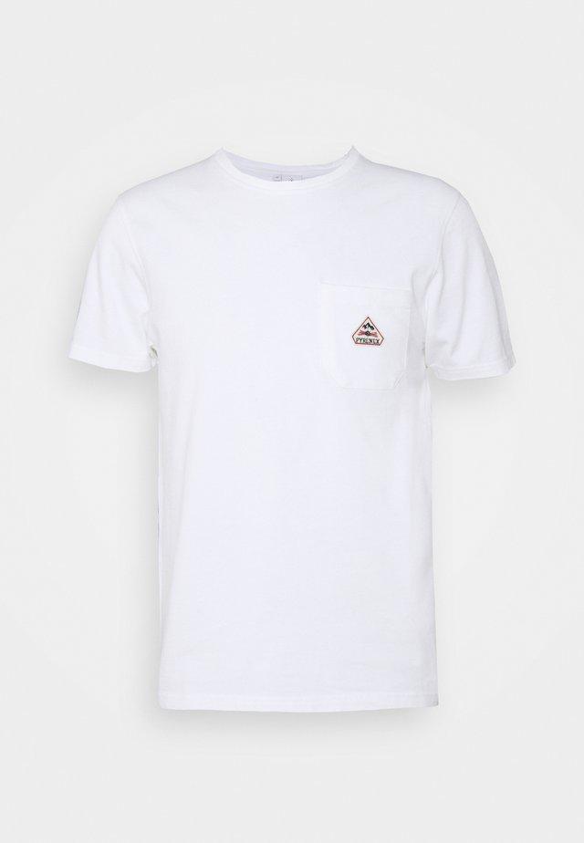 LUSTOU - T-shirt imprimé - white
