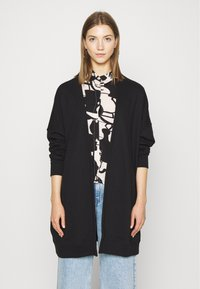 Monki - CAMILLA CARDIGAN - Hettejakke - black dark - 0