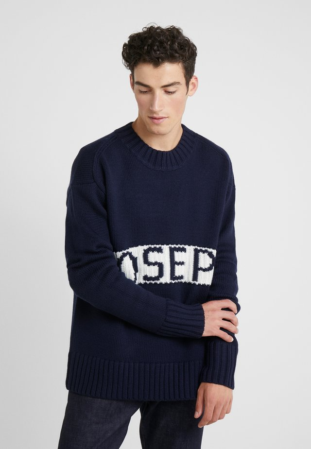 LOGO SWEATER SLOPPY JOE  - Jumper - navy