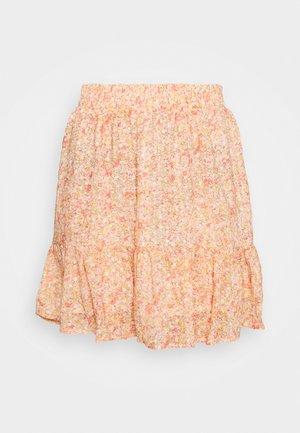 LOUISA - Spódnica mini - pink/orange