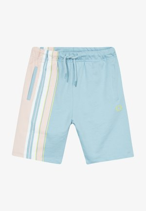 BRAN  - Tracksuit bottoms - blue/multi