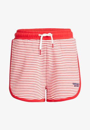 Shorts - bright red
