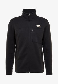 The North Face - GORDON LYONS FULL ZIP - Kurtka z polaru - black heather - 4