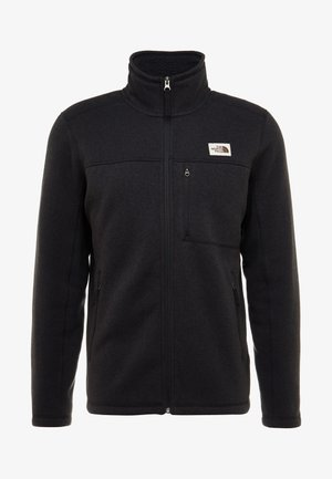 GORDON LYONS FULL ZIP - Kurtka z polaru - black heather