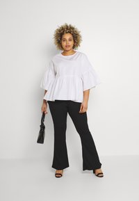Simply Be - SLEEVE SMOCK - Camicetta - white - 1