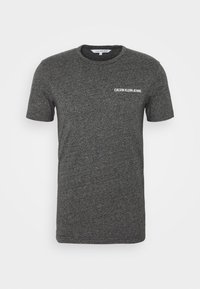 Calvin Klein Jeans - INSTITUTIONAL CHEST GRINDLE TEE - T-shirt med print - black - 3