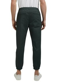 Esprit Collection - FASHION - Tracksuit bottoms - dark teal green - 4