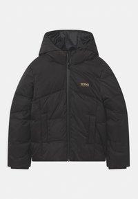 BOSS Kidswear - PUFFER GOLD CAPSULE - Winter jacket - black - 0