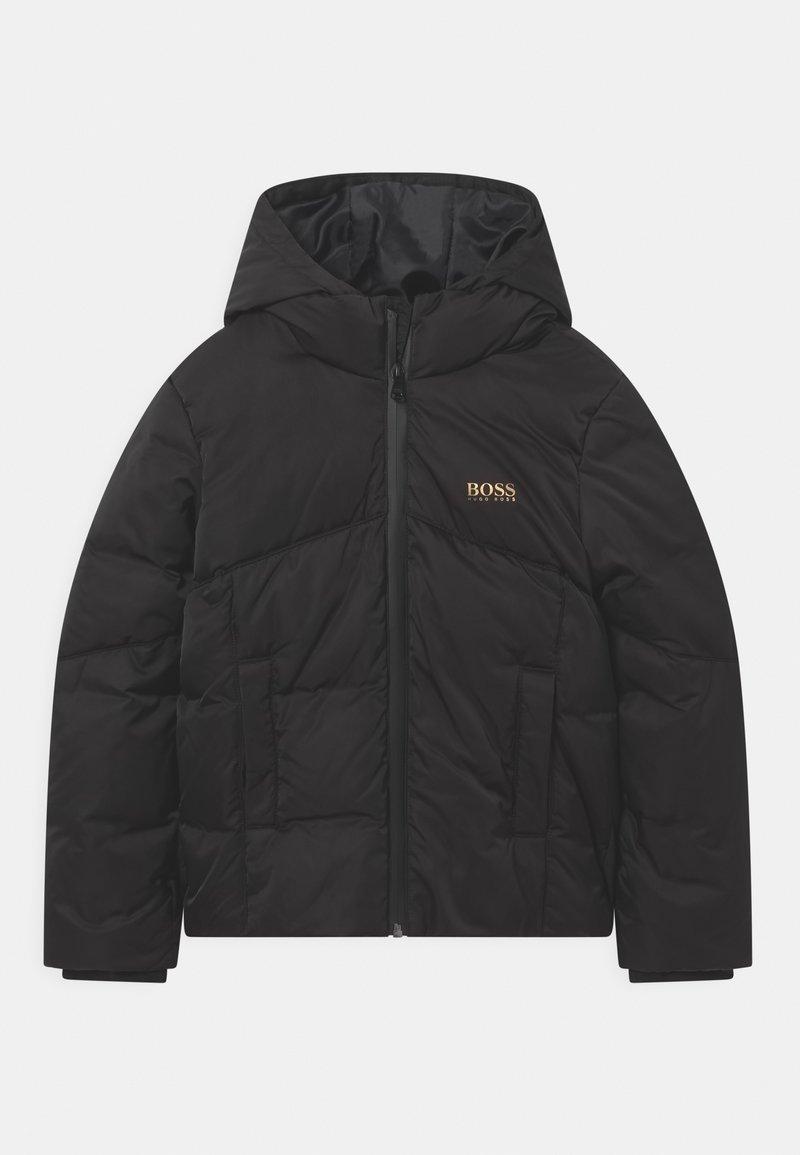 BOSS Kidswear - PUFFER GOLD CAPSULE - Winter jacket - black