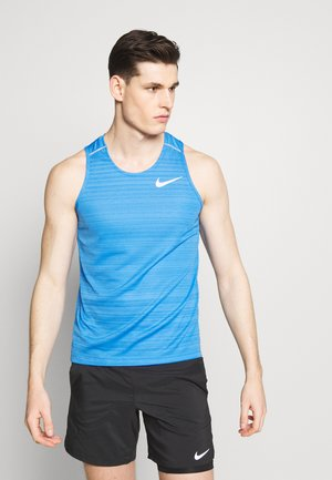 DRY MILER TANK - Sports shirt - pacific blue