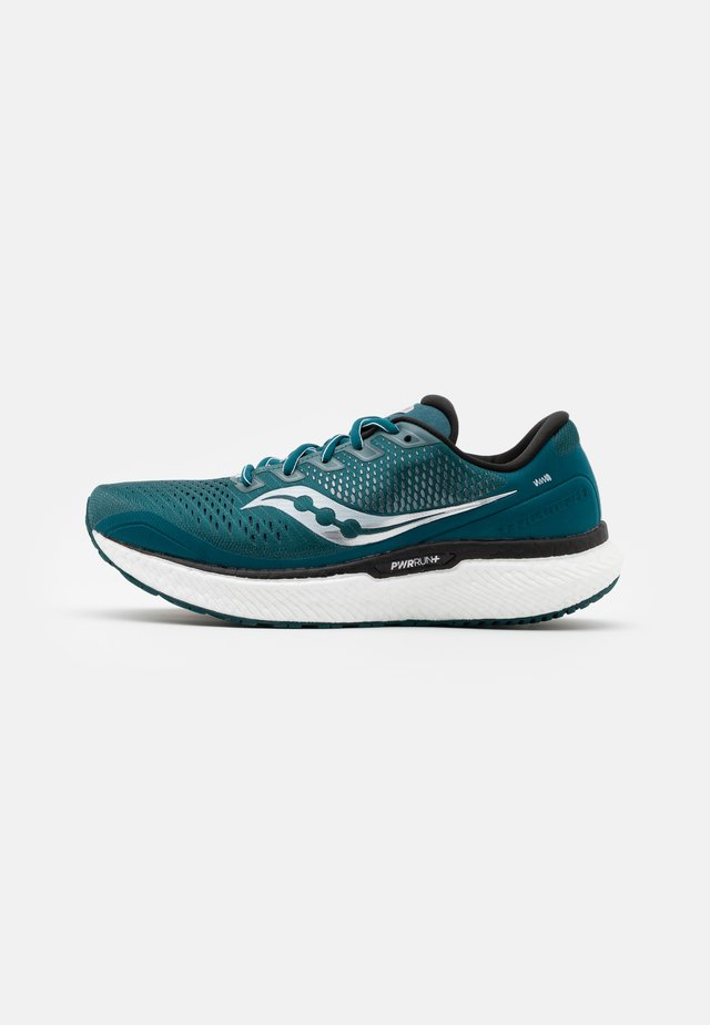TRIUMPH 18 - Obuwie do biegania treningowe - deep teal/silver