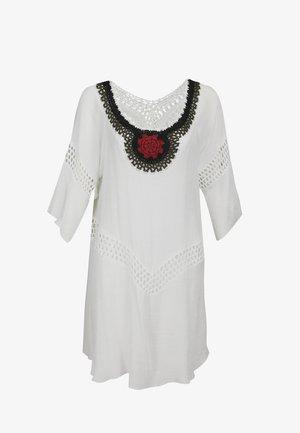 TUNIKAKLEID - Day dress - wollweiss