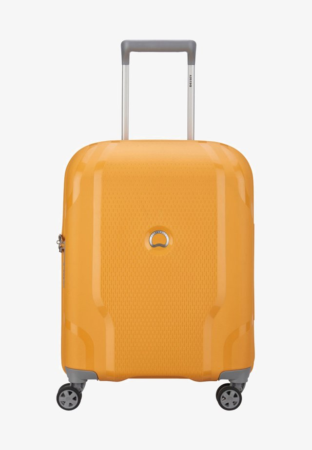CLAVEL - Wheeled suitcase - yellow