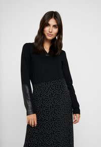 LOVE2WAIT - SHIRT SLEEVES - Long sleeved top - black - 0