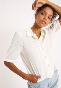 Pimkie - Button-down blouse - weiß - 0