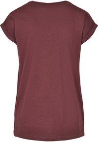 Urban Classics - EXTENDED SHOULDER TEE - Camiseta básica - redwine - 6