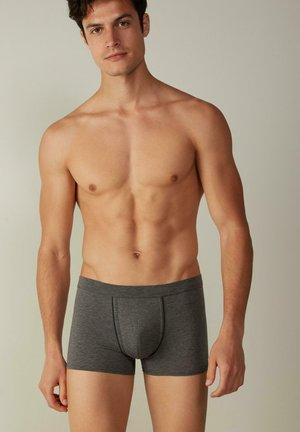 NATURAL FRESH - Boxer shorts - grafite mel./blu notte