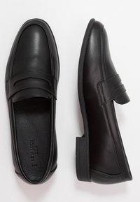 New Look - LAWRENCE PENNY LOAFER - Mocassins - black - 1