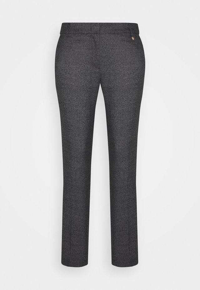 CIGARET - Kalhoty - black