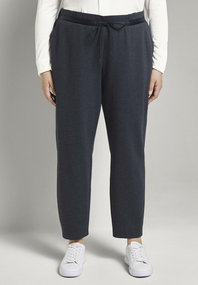 Trousers - captain navy melange