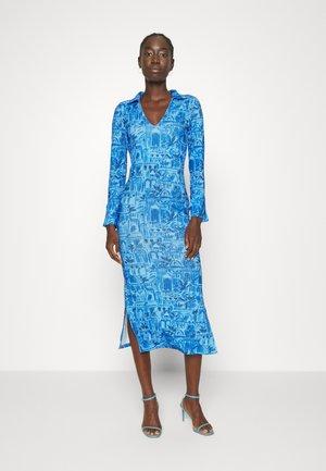 BLUE SCENERY DRESS - Jersey dress - blue