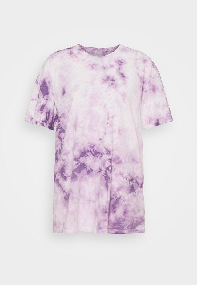 BRANDED FASHION LENNON TEE - T-shirts print - purple