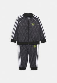 adidas Originals - SET - Zip-up hoodie - black/grefiv/white - 0
