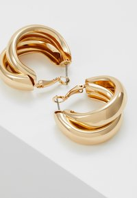 Topshop - CHUNK LAYER HOOP - Ohrringe - gold-coloured - 2