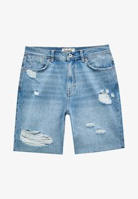 PULL&BEAR - Denim shorts - dark-blue denim - 6