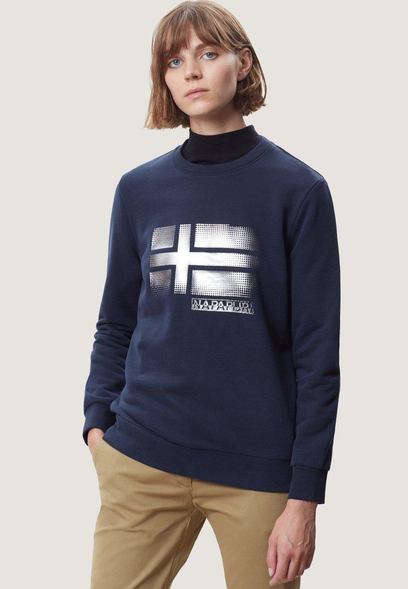Napapijri - BRA - Sweatshirt - navy blue
