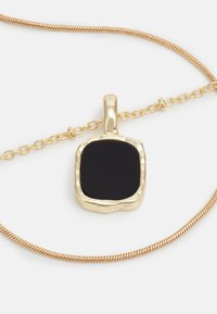 ONLY - ONLALICE NECKLACE - Necklace - gold-coloured/black - 2