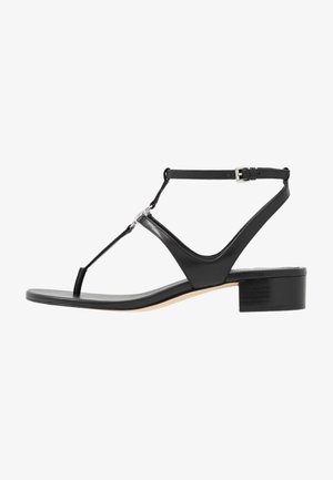 LITA THONG - T-bar sandals - black