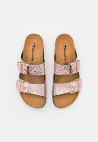 Tamaris - Slippers - rose gold - 4