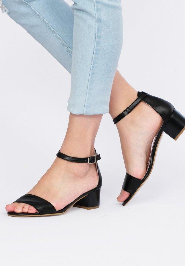 BOUCLE - Sandals - black