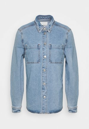 OBJVINNIE OWEN JACKET A FAIR - Denim jacket - light blue denim