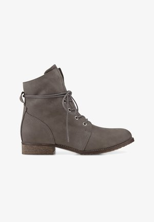 Lace-up ankle boots - dunkelgrau