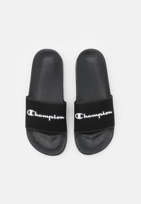 Champion - SLIDE DAYTONA - Rantasandaalit - black - 3