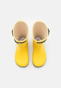 Aigle - WOODYPOP2 UNISEX - Wellies - jaune/indigo - 3